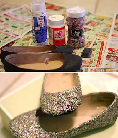 Add some sparkle to old flats diy-craft-ideas