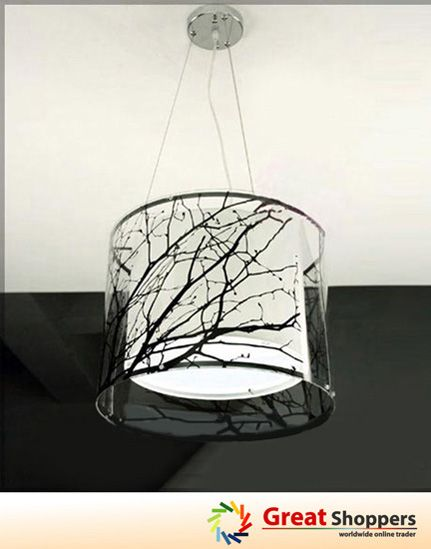1000 images about ceramic lamp base on pinterest trees - Tree branch ceiling light ...