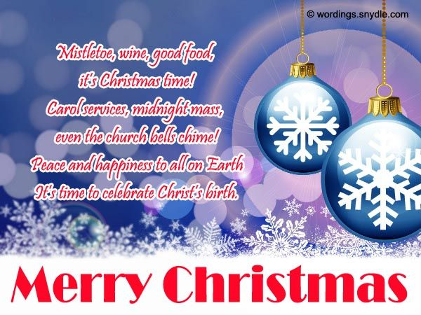 69 best Christmas Wishes, Messages and Greetings images on - christmas greetings sample