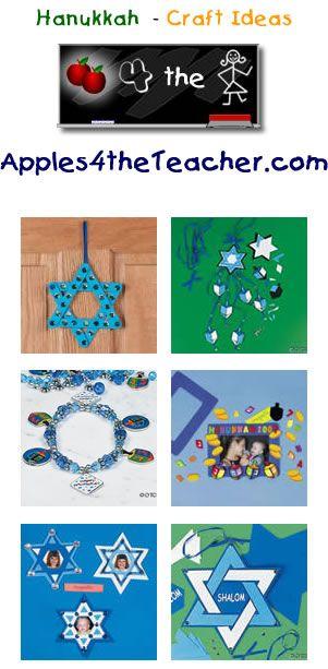 Fun Hanukkah crafts for kids - Hanukkah craft ideas for children.