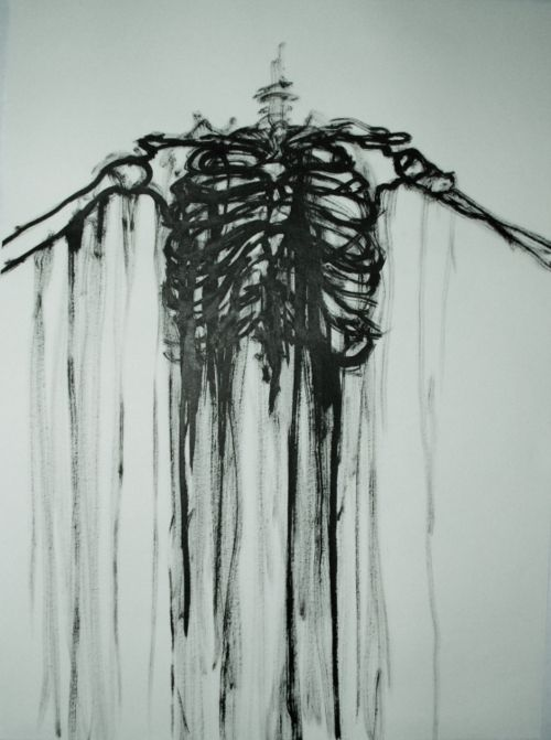 a slimy skeleton artist tumblr - 500×671