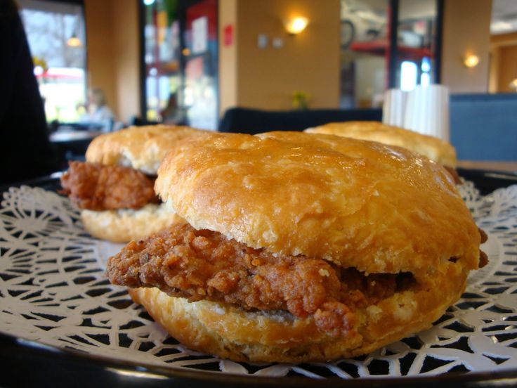 So sad you can't get Chick-fil-A on Sundays. You can make your own Southern Style Chicken Biscuit at home ~ Nik Snacks
