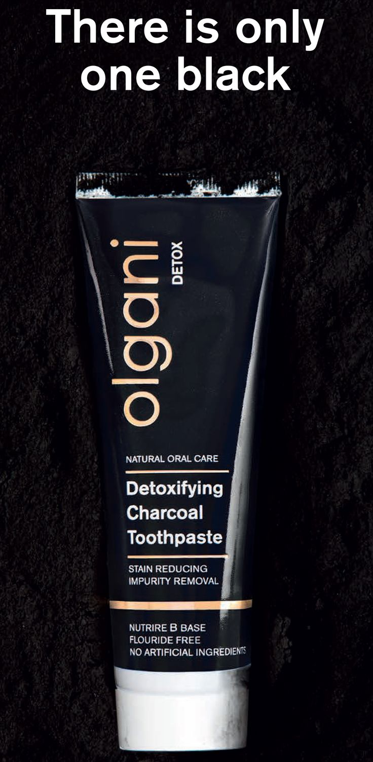 Olgani Detox  - Detoxifying Charcoal Toothpaste  Olgani brings you South Africa's first activated charcoal and bentonite clay Detoxifying and Whitening 100% natural Toothpaste  There is only one Black! www.ivohealth.co.za
