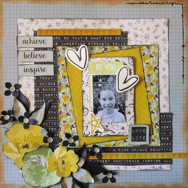 Created with the #ME kaisercraft papers. Adriana Bolzon http://abinspirations.blogspot.com/