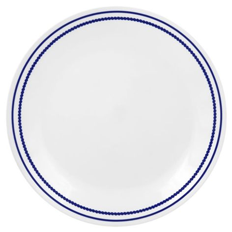 Corelle Breathtaking Blue Beads Dinner Plate - Breathtaking Blue Beads - LivingWare - Corelle - World  sc 1 st  Pinterest & 9 best Corelle images on Pinterest | Kitchens uk Dishes and Diners