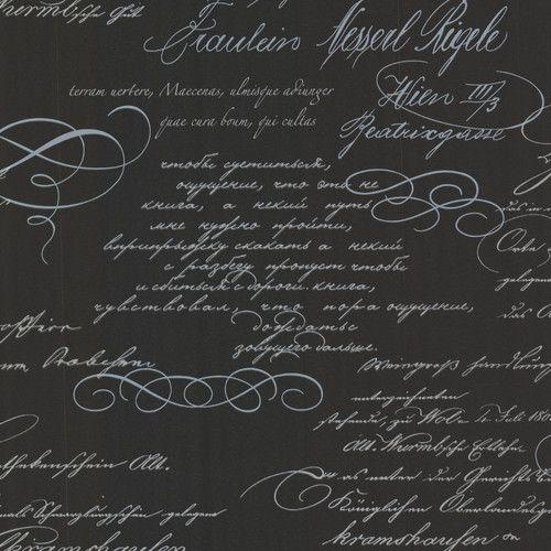 "Found it at Wayfair - Bath Bath Bath Volume IV Ferdinand Poetic Script 33' x 20.5"" 3D Embossed Wallpaper"