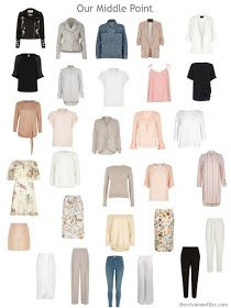 a post-edit 30-piece wardrobe