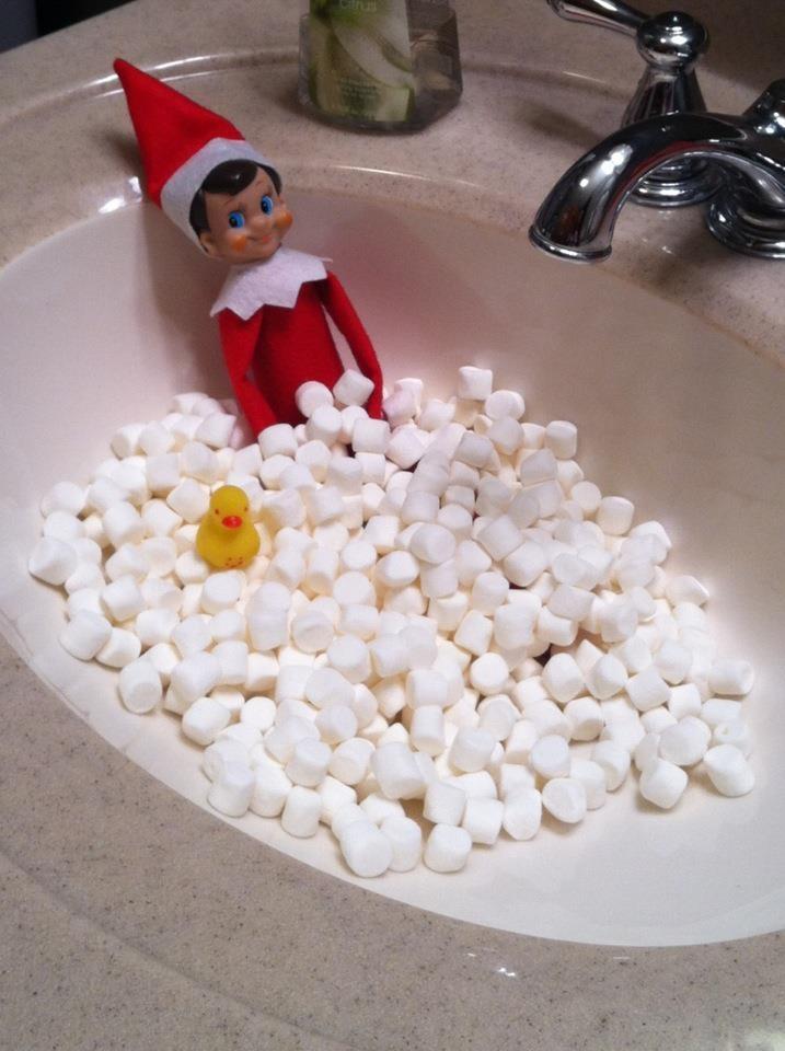 Marshmallow Bath!