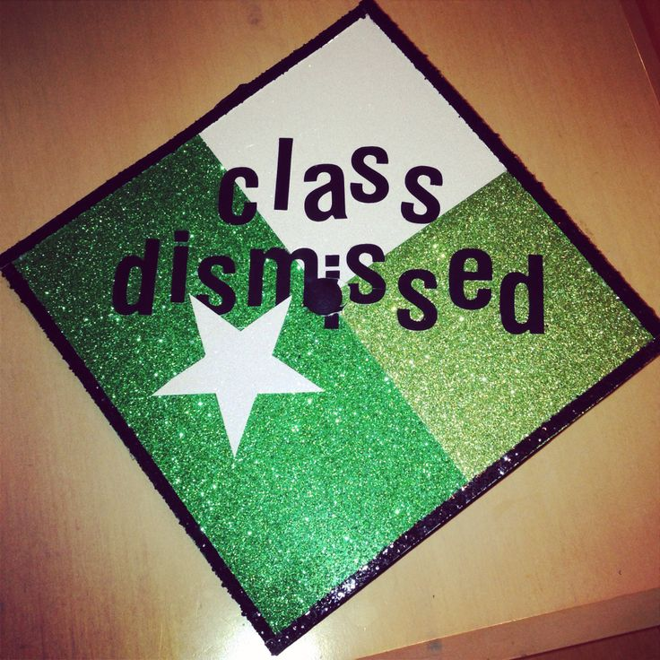 Graduation Cap for the University of North Texas