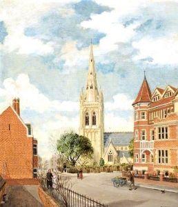 St Peter's Church, Bournemouth, Dorset - Reginald Ernest Arnold - The Athenaeum