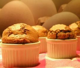 Recette Muffins au chocolat par IstresNell - recette de la catégorie Pâtisseries sucrées