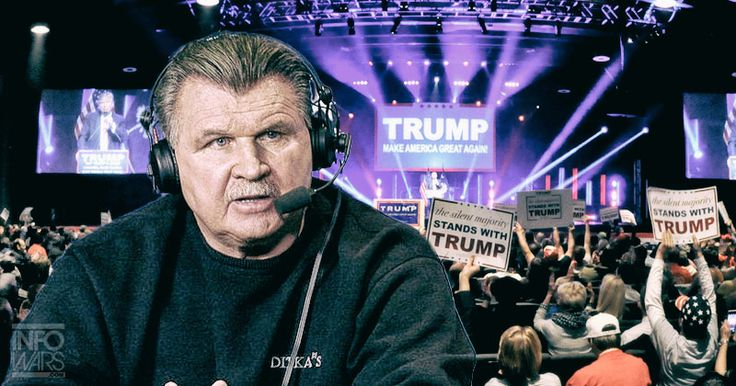 ESPN Replaces Sportscaster Mike Ditka Days After Trump Endorsement