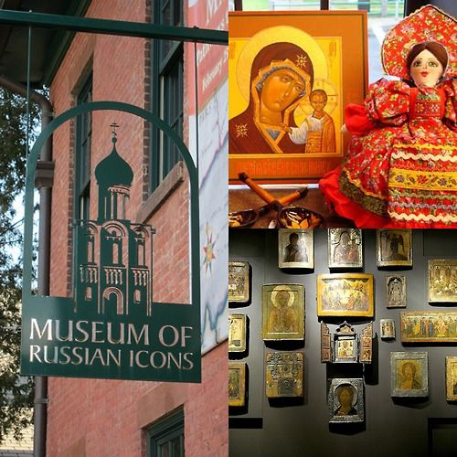 What a cute collage someone put together! Museum of Russian Icons - Clinton, MA