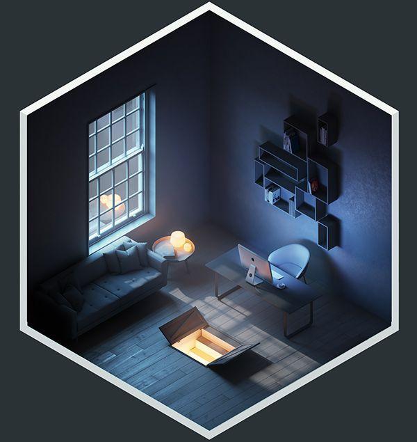 4² Rooms on Digital Art Served