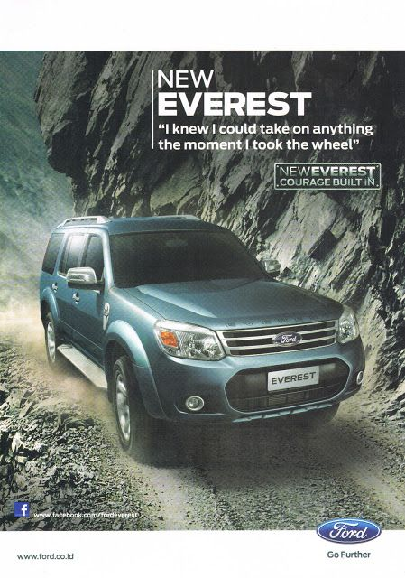 New Ford Everest 2013