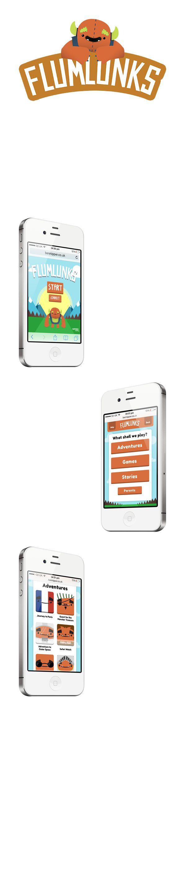 Flumlunks Application Design on Behance
