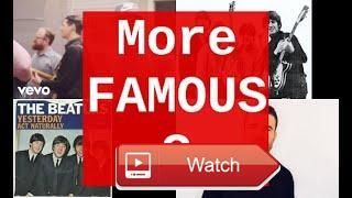 Sam Hunt vs The Beatles Who is more famous  Sam Hunt and The Beatles Popularity comparison Results at the end of this video based on the top most watched video