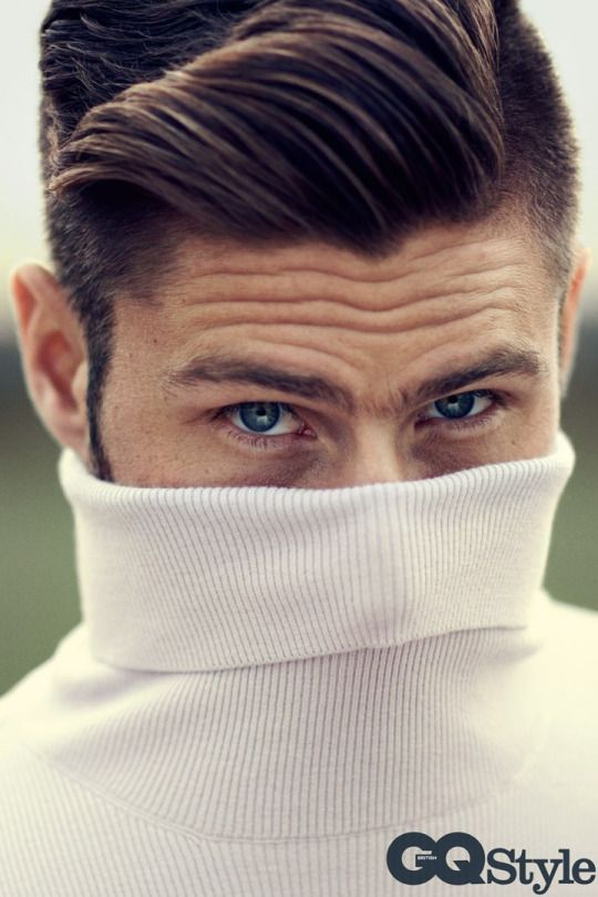 Olivier Giroud for GQ