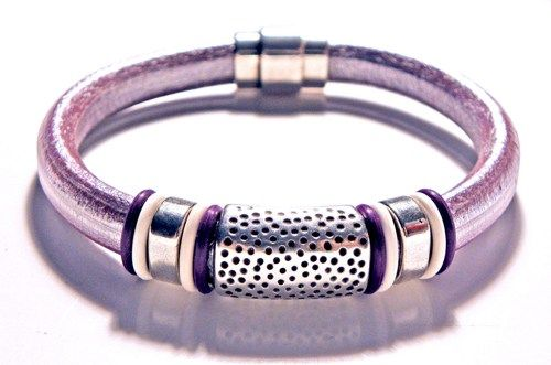 Leather Bracelet, Regaliz Greek licorice leather,PICK YOUR SIZE | egrobeck - Jewelry on ArtFire