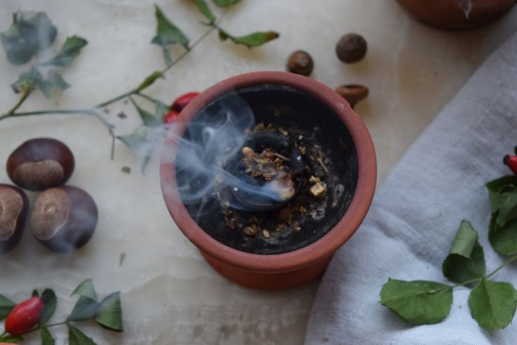 I loved this incense recipe from last year. A great way to celebrate Autumn.