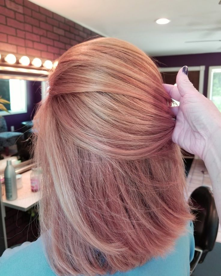 Pinterest Rose Gold Hair Color