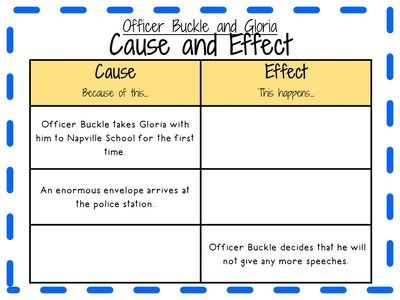 Officer Buckle and Gloria Activity Pack for Grades 2-3 from KidsForever on TeachersNotebook.com (54 pages)