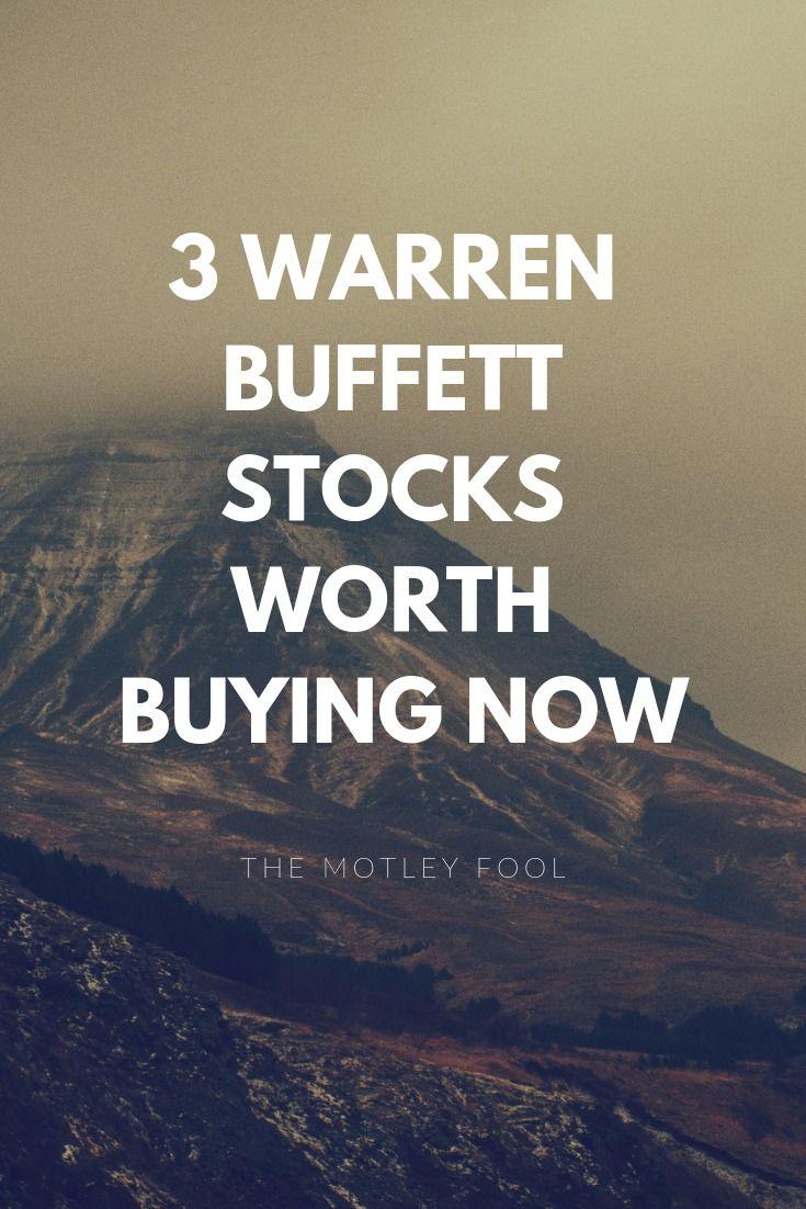 3 Warren Buffett Stocks Worth Buying Now Best Stocks To Buy The