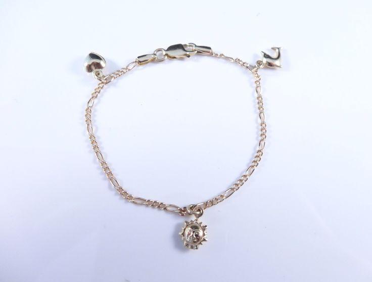 $223 14K Gold Bracelet, info@bijuterie-online.ro.