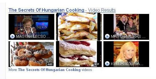 The Secrets of Hungarian cooking google search. Great results.