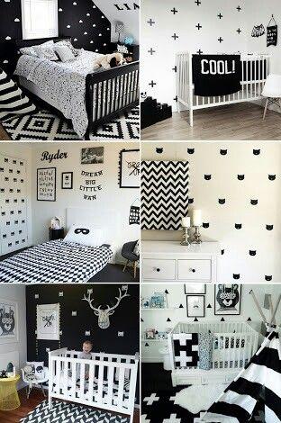Monochrome Nursery Inspiration
