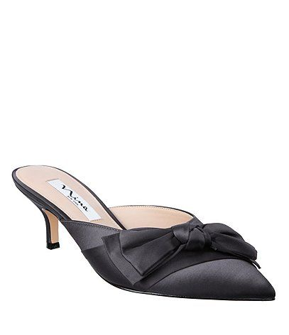Shop for Nina Timara Satin Bow Detail Dress Mules at Dillards.com. Visit Dillards.com to find clothing, accessories, shoes, cosmetics & more. The Style of Your Life.