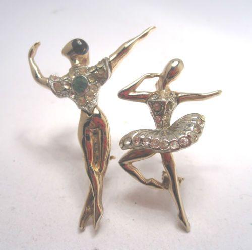 VTG-MARCEL-BOUCHER-1950S-MAN-WOMAN-BALLERINA-DANCER-FIGURAL-PIN-BROOCH-PAIR