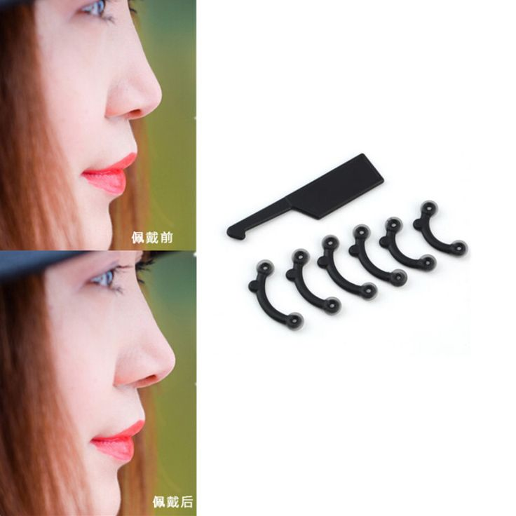 NEW 3 Size for 1 Set Nose Up Lifting Shaping Clip Secret Nose Clipper Shaper Beauty Tool No Pain BO #Affiliate