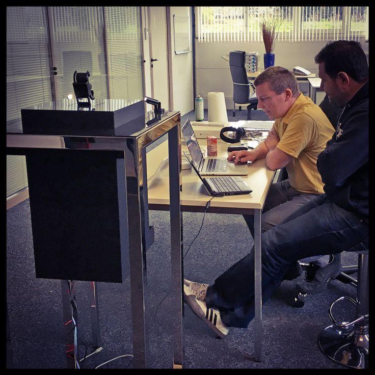 @rgbprod #BestAgency Olivier Amrein (Artistic Director) working on #raptor2 #baselworld2016