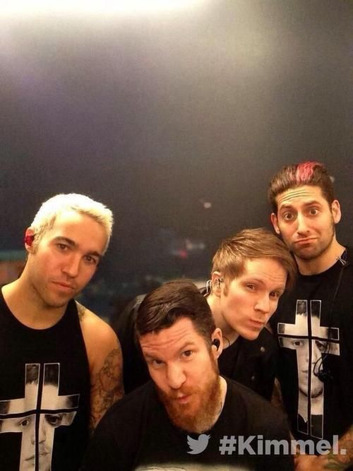 Fall Out Boy on the Jimmy Kimmel show