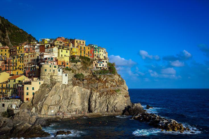 Manarola Postcard View #CinqueTerre #Italy
