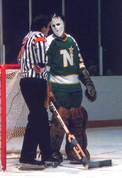 Cesare Maniago, Minnesota North Stars