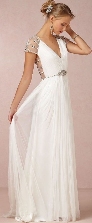 Goddess wedding gown | bhldn