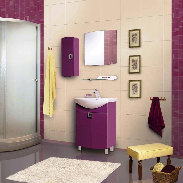 1000 id es sur le th me salle de bain mauve sur pinterest for Salle de bain mauve