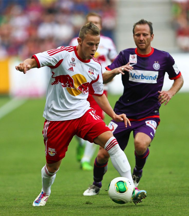 Vs. FK Austria Wien im Einsatz.