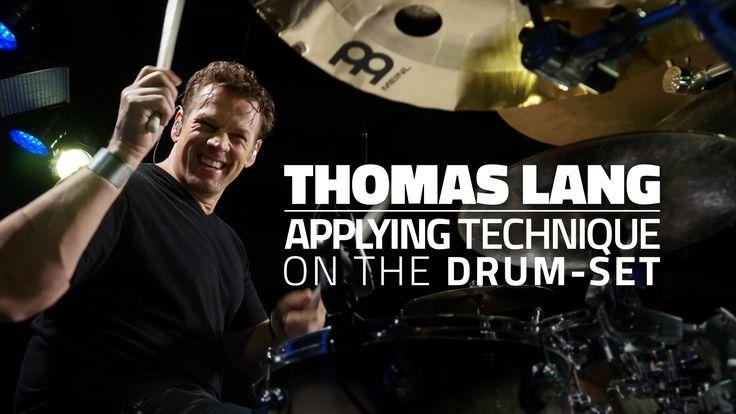 Thomas Lang - Applying Technique On The Drum-Set (FULL DRUM LESSON)