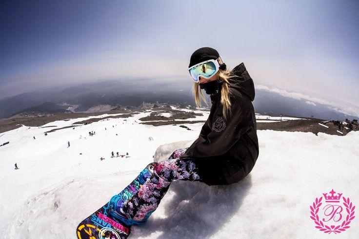 elmirazizova:    Olya Smeshlivaya for Betty Rides.  Mt.Hood, HCSC.