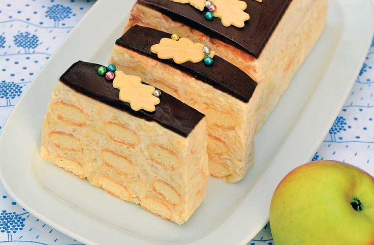 Zázrak z formy na chlebíček: Nepečený dezert s tvarohem a jablky