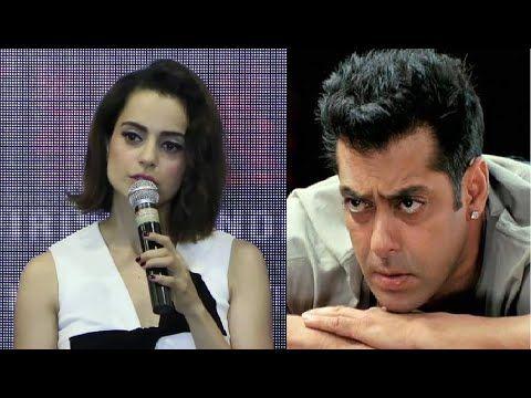 Kangana Ranaut's reaction on Salman Khan's RAPED WOMAN remark.