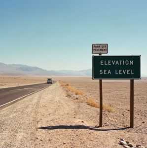 Driving California's Death Valley and Mojave Desert, the hottest place on the planet.