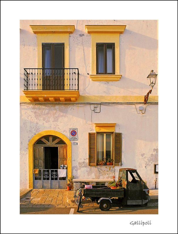 Gallipoli, daily life... - Gallipoli, Lecce