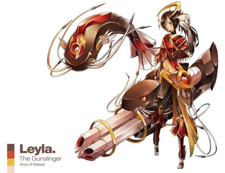 Leyla / The Gunslinger / Arca of Bekasi