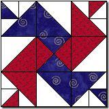 Fair Play free quilt block pattern