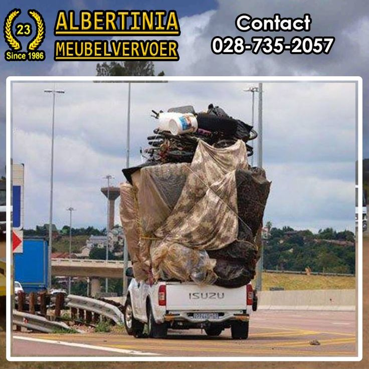 Did you know that Albertinia Meubelvervoer was established in 1986 and handles furniture removal and transport to and from the Garden Route to anywhere in South Africa. #transport #furniture #removals
