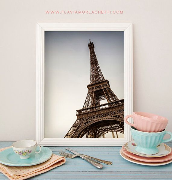Tour Eiffel Photography Eiffel Tower fine art by FlaviaMorlachetti